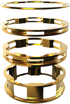 BOX One Zero Alloy Headset Spacers - Gold
