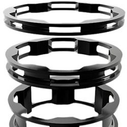 BOX One Zero Alloy Headset Spacers - Black