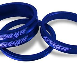 Crupi Aluminum Headset Spacers - Blue