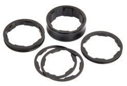 BOX Two Alloy Spacers - Black