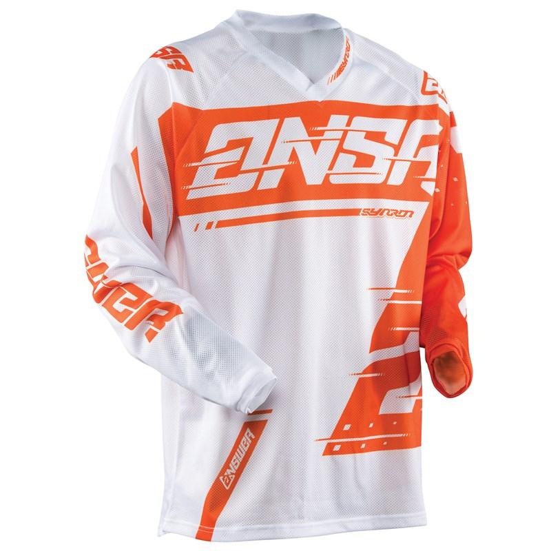 Answer A18 Syncron Air Jersey - White / Orange