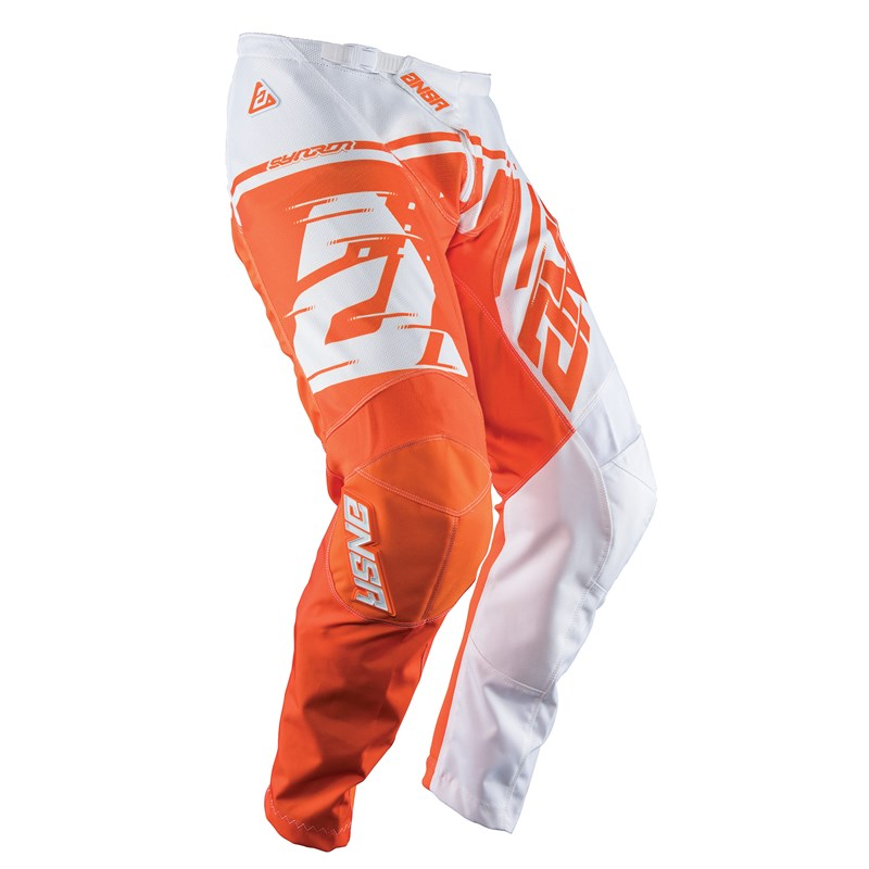 Answer A18 Syncron Air Pants - White / Orange