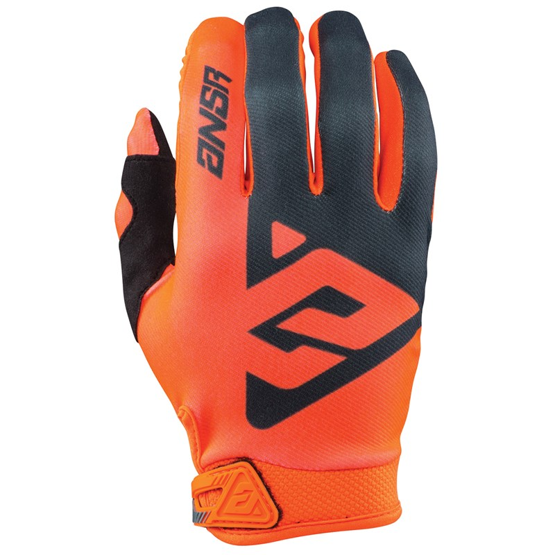 Answer AR1 Gloves - Orange / Black