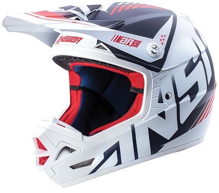 ANSWER AR3 Align Helmet - White / Navy