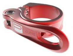 Promax QR-1 Quick Release Seat Post Clamp - Red