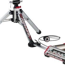Minoura FG-540 Hybrid Roller; Front Fork Mounted Trainer with Roller Resistance Unit