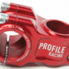 Profile NOVA 31.8mm Stem - Red