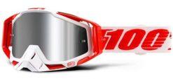 100% Race Craft Plus Goggles - Bilal w/ Mirror Lens