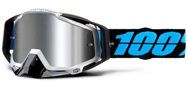100% Race Craft Plus Goggles - Daffed w/ Mirror Lens