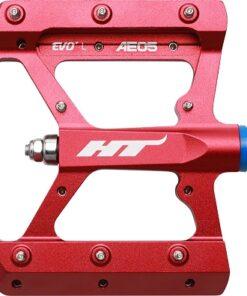HT AE05 (Evo+) Platform Pedal - Red