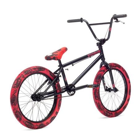 2019 Stolen Casino Complete Bike - Black w/ Red Tie Dye