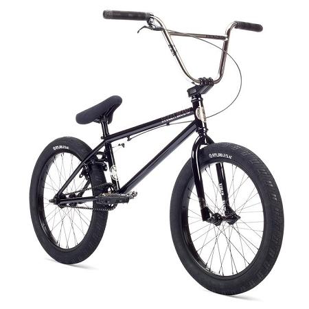 2019 Stolen Heist Complete Bike - Classic Black & Chrome
