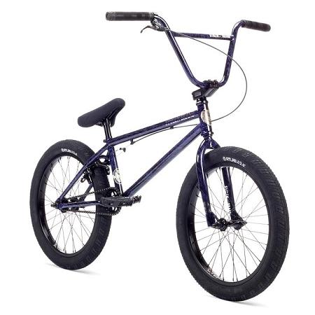 2019 Stolen Heist Complete Bike - Purple Sludge Splatter