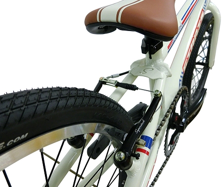 """Staats Superstock 20"""" Pro Complete Bike - White"""