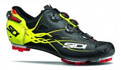 SIDI MTB Tiger Shoe - Black / Fluro Yellow