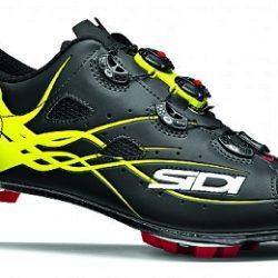 SIDI MTB Tiger Shoe - Black / Fluro Yellow
