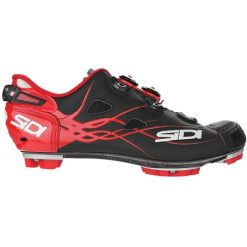 Sidi Drako Shoe - Black / Red