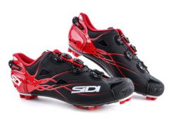 SIDI MTB Tiger Shoe - Black / Red