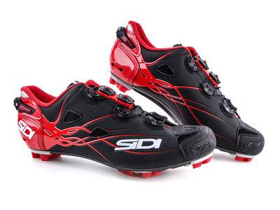 SIDI MTB Tiger Shoe - Black / Red