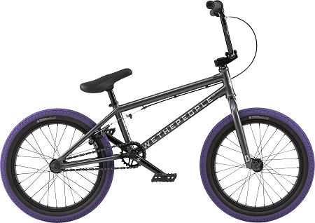 "We The People CRS 20"" 2018 Complete Bike - Anthracite"