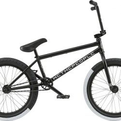 "We The People Reason Freecoaster 20"" 2018 Complete Bike - Matte Black"
