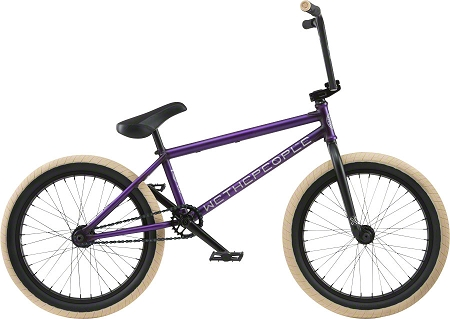 "We The People Reason Freecoaster 20"" 2018 Complete Bike - Trans Purple"