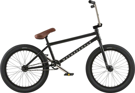 "We The People Trust 20"" 2018 Complete Bike - Matte Black"