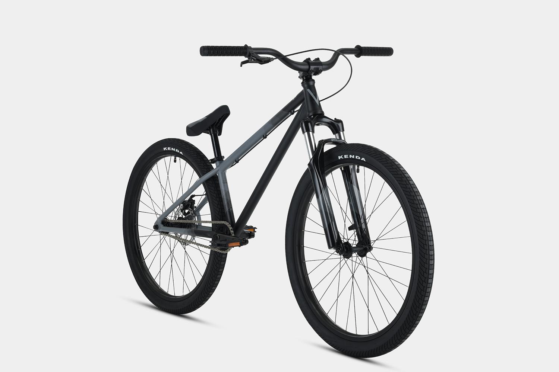 "2019 Verde Radix DJ 26"" Complete Bike - Gray - Time 2 Shine BMX"