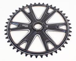 Profile Racing Imperial Sprocket 42t Black CNC Aluminum BMX Bike Chainring