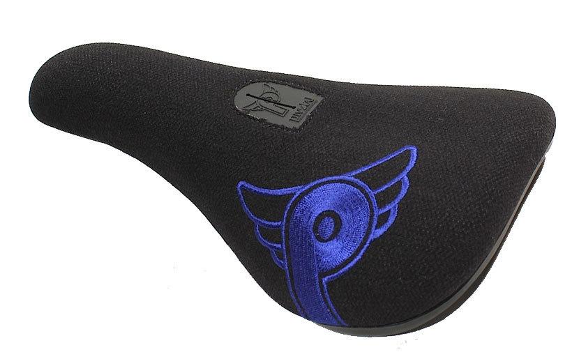 PROFILE LOGO SLIM PIVOTAL BMX SEAT BLUE LOGO