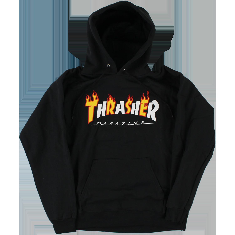 Thrasher Flame Mag HD Hoody