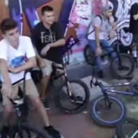 TEAM FIEND BMX EN BARCELONA / GRABO A GARRET REYNOLDS / BMXVLOG